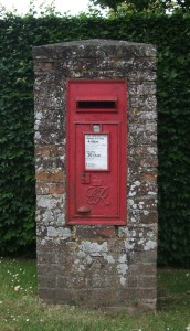 Delivery via postbox