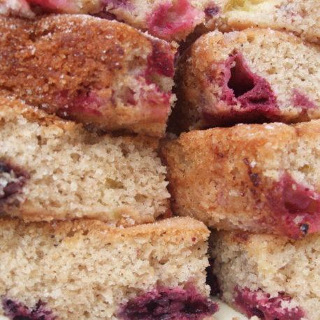 Kent Apple & Blueberry Cake