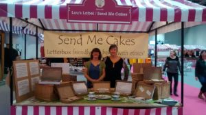 Meeting customers and collecting feedback at the Cake&Bake Show