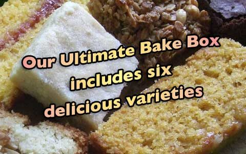 Our ultimate bake box includes six delicious varieties