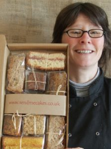 PR shot of Lou holding a sample ultimate bake box
